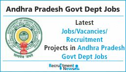 Andhra Pradesh Govt Dept Jobs
