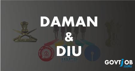 Daman & Diu Govt Jobs