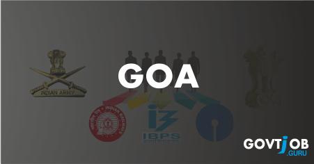 Goa Govt Jobs 2017