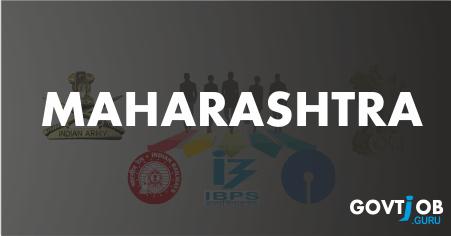 Maharashtra Govt Jobs 2017