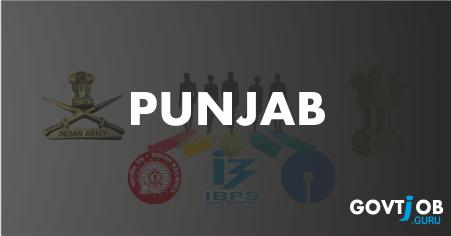 Punjab Govt Jobs 2017