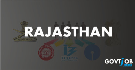 Rajasthan Govt Jobs 2017