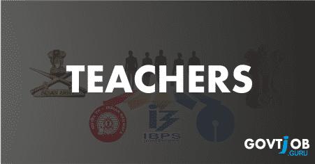 teachers govt jobs