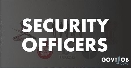 security officers govt jobs