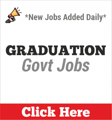 graduation govt jobs