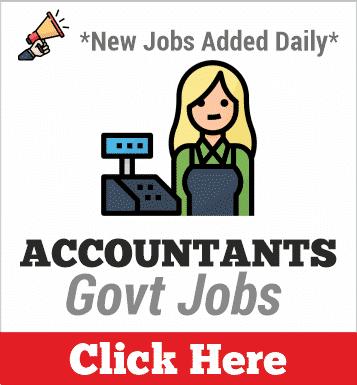 accountants govt jobs