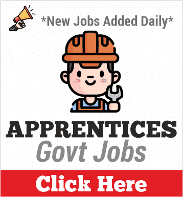 apprentices govt jobs