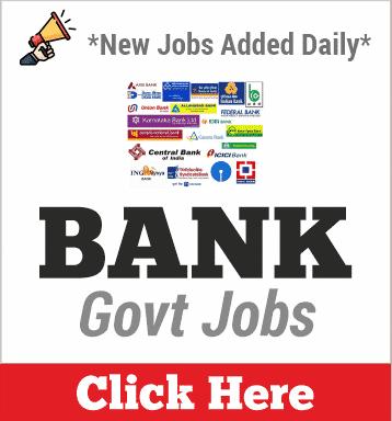 Bank Jobs 2020