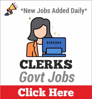 clerks govt jobs