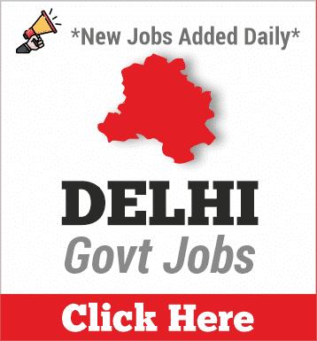 delhi govt jobs