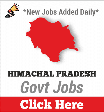 himachalpradesh govt jobs