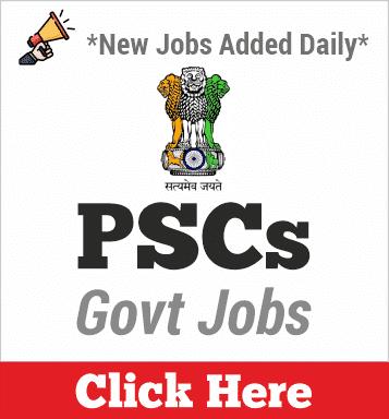 PSCs Jobs 2020
